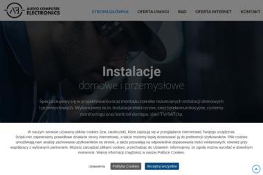 Audio Computer Electronics. Łukasz Pikuła - Instalacja, konfiguracja komputerów i sieci Sosnowiec