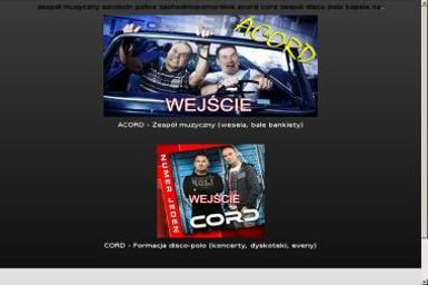 Zespół Muzyczny na Wesele Acord - Zespół muzyczny Police