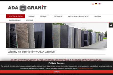Ada Granit Dariusz Kusiak - Schody Zewnętrzne Stalowe Strzegom