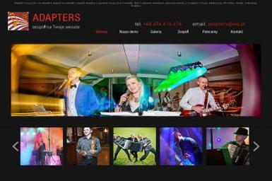 Adapters. Zespół na wesele, muzyczna oprawa imprez - Zespół muzyczny Głubczyce