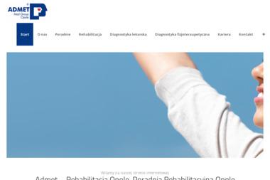 """Niepubliczny Zakład Opieki Zdrowotnej """"ADMET"""" Centrum Utrzymania Zdrowia - Psycholog Opole"""