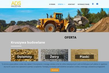 Ads Kruszywa S.C. Joanna Wojas Dominika Siwek Szymon Świaczny - Sprzedaż Materiałów Budowlanych Orzesze
