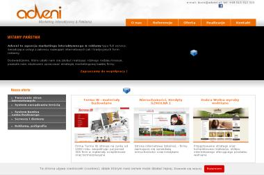Adveni Marketing Interaktywny & Reklama - Drukarnia Żywiec