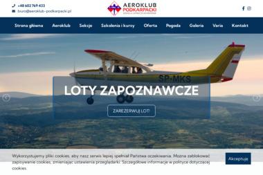Aeroklub Podkarpacki Szkoła Lotnicza - Joga Krosno