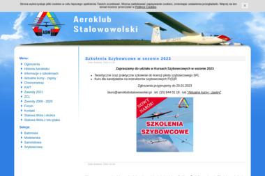 Aeroklub Stalowowolski - Joga Zbydniów