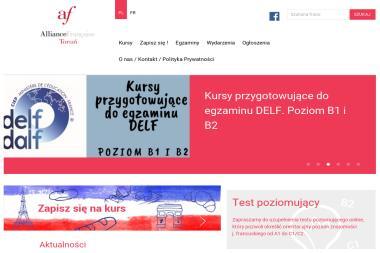 Toruńskie Stowarzyszenie Alliance Francaise - Kurs francuskiego Toruń