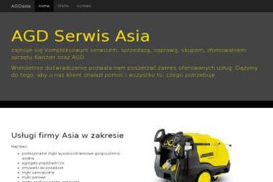 SERWIS KARCHER - AGD ASIA - Naprawa zmywarek Sieroty