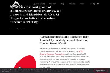 Agenza  - Studio brandingowe - Strony internetowe REWAL