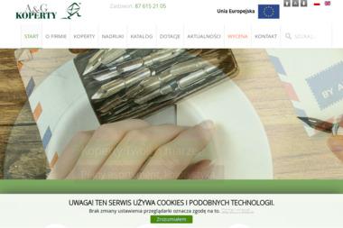 A&G Koperty Sp. z o.o. - Usługi Poligraficzne Gołdap