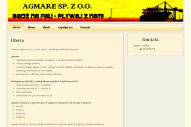 Agmare Sp. z o.o. - Transport ciężarowy krajowy Kielno