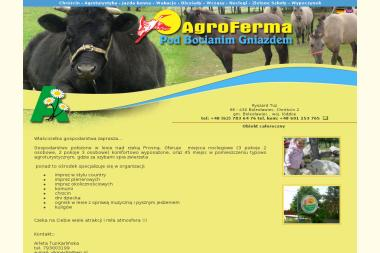 AgroFerma pod Bocianim Gniazdem - Agroturystyka Chróścin