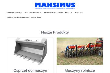 Romana Staszak Maksimus Przedsiębiorstwo Produkcyjno Usługowo Handlowe - Agencja marketingowa Pieruszyce