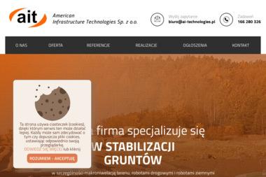 Ait. American Infrastructure Technologies Sp. z o.o. - Budowa dróg Laszki