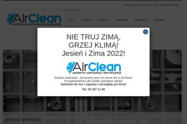 Airclean. Montaż Klimatyzacji - Klimatyzacja Świętochłowice