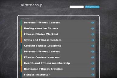 Air Fitness. Siłownia, fitnes, rowery - Kluby sportowe, treningi Bydgoszcz