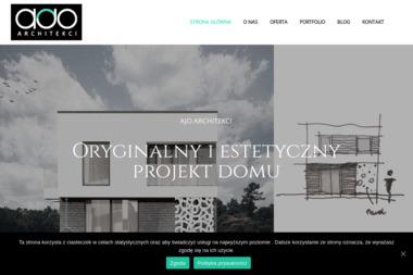 AJO Architekci, projekty, aranżacje, rozbudowy - Projekty Domów z Poddaszem Tarnów
