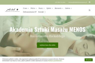 Akademia Sztuki Masażu MENOS - Salon Masażu Kraków
