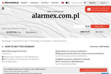 Alarmex - Żuk i wspólnicy - Agencja ochrony Olsztyn