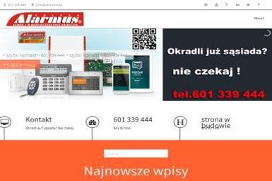 Zakład Handlowo Usługowy Alarmus Janusz Gębarowski - Rozbiórki Moszczenica