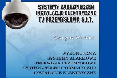 Systemy Zabezpieczeń Instalacje Eleltryczne Tv Przemysłowa S i T Grzegorz Woźniak - Agencja ochrony Pyrzyce