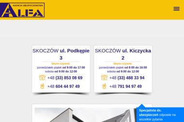 Agencja Ubezpieczeniowa Alfa Marcin Broda - Przedstawiciel Ubezpieczeniowy Skoczów