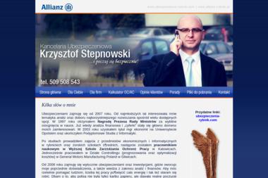 Kancelaria Ubezpieczeniowa Krzysztof Stepnowski - Ubezpieczenie firmy Rybnik