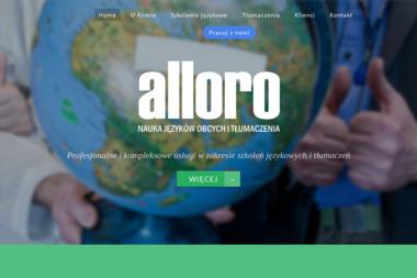 Alloro Nauka Języków Obcych i Tłumaczenia Joanna Kiersztejn - Szkoła językowa Katowice