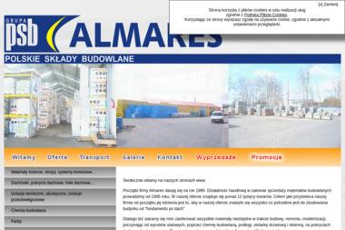 Grupa PSB - Almares / oddział. Materiały budowlane, artykuły wyposażenia wnętrz - Skład budowlany Krokowa