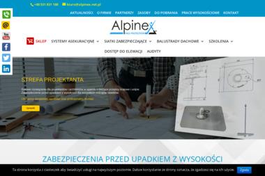 Alpinex. Usługi alpinistyczne. - Alpinizm Przemysłowy Piła
