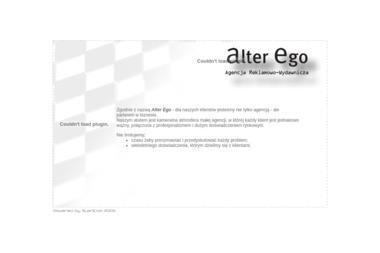 Alter Ego Agencja Reklamowo Wydawnicza Brygida Rekowska - Agencja Reklamowa Czartołomie