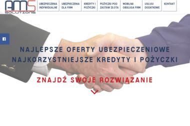 AMS Solutions. Ubezpieczenia, Kredyty, Pożyczki - Leasing Lewin Brzeski