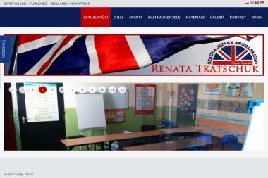 Szkoła Języków Obcych RENATA TKATSCHUK - Nauczyciele angielskiego Chełm