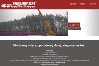 Annaberg Kran Sp. z o.o. Dźwig, usługi dźwigiem - Maszyny budowlane Strzelce Opolskie