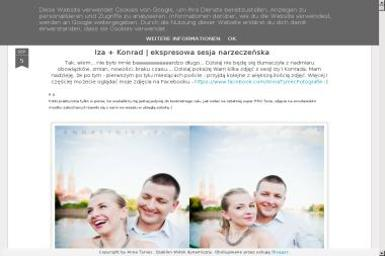 Anna Tyniec-Usługi Fotograficzne. Fotografia, sesje zdjęciowe - Fotograf Polanica-Zdrój