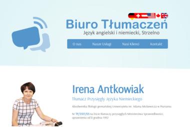 Irena i Sławomir Antkowiak - Tłumacze Przysięgli (Język niemiecki i angielski) - Tłumaczenia dokumentów Strzelno