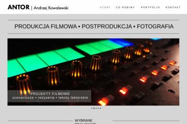 Antor TV Production. Wideofilmowanie, wideoklipy - Kamerzysta Toruń