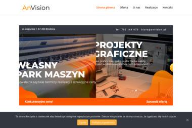 AnVision reklama wizualna - Agencja marketingowa Brodnica