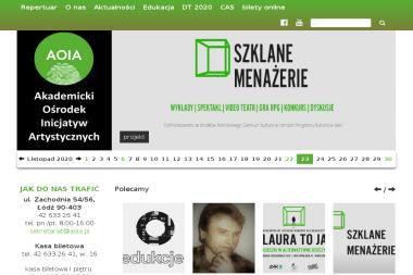 Akademicki Ośrodek Inicjatyw Artystycznych - Indywidualne Lekcje Tańca Łódź