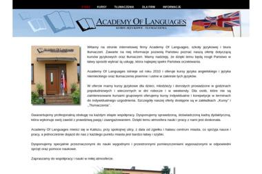 Academy of Languages Edmund Symanowicz. Angielski, niemiecki - Nauczyciele angielskiego Kalisz