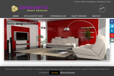 Apacheta Smart Systems. Instalacje Inteligentny dom - Inteligentny dom Podkowa Leśna