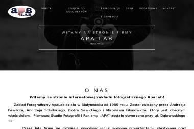 Apa Lab Fotograf - Sesje zdjęciowe Białystok