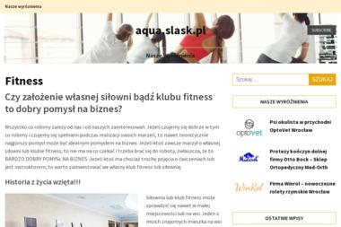 Aqua Aerobik. Pływanie, fitness, nordic walking - Trener Biegania Zabrze