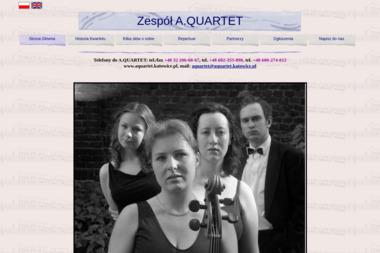 A.Quartet Piotr Jerchel. Zespół muzyczny, muzyka - Zespół muzyczny Katowice