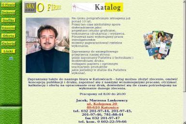 Ara - Graf S.C. Jacek Laskowski. - Druk wielkoformatowy Katowice