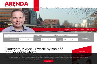 Agencja Nieruchomości Arenda. Marek Kiełpikowski - Mieszkania Bydgoszcz
