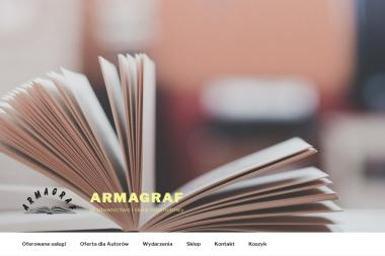 Wydawnictwo Armagraf Maciej Penar - Drukowanie Krosno