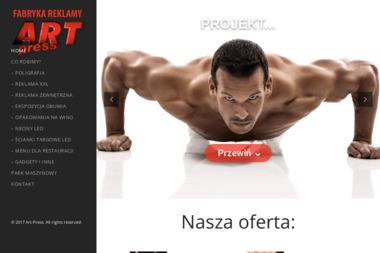 FPHU Art Press Tomasz Rusiniak - Wizytówki Częstochowa