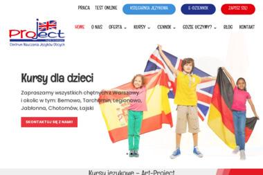 Art Project. Centrum Nauczania Języków Obcych - Język Angielski Jabłonna