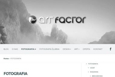 Art Factor. Agencja reklamowa, studio fotografii - Druk Banerów Rzeszów