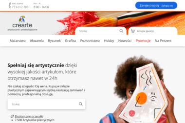 Sklep Artykuły dla plastyków - Reklama Online Bychlew